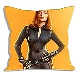 Funda de Almohada Impresa Avengers Natasha Romanoff Retrato Fundas de Almohada Fundas de Almohada para Regalos Fundas de Almohada con Cremallera Fundas para cojín / Oficina / Sofá / Dormitorio