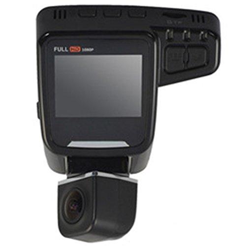 FOORDAY - Cámara de salpicadero para Coche con Pantalla LCD de 2,0 Pulgadas, rotación de 360 Grados, Full HD, 1080P, grabadora de vídeo con Sensor G, versión Nocturna