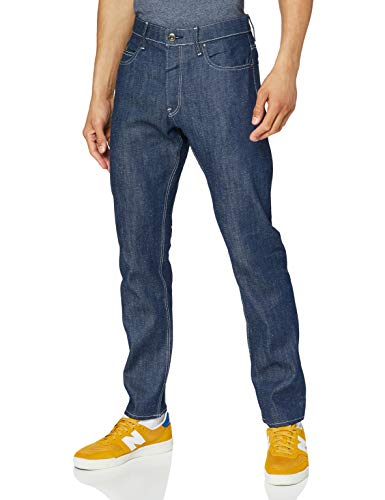 G-STAR RAW Mens Alto High Waist Straight C Jeans, raw Denim C665-001, 29W / 30L