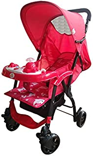 Baby Love Stroller For Baby, Red - 27-768