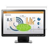 VacFun 3 Piezas HD Claro Protector de Pantalla para HP ProDisplay P202va 19.53' Display Monitor, Screen Protector Sin Burbujas Película Protectora (Not Cristal Templado)