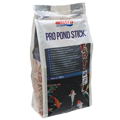 Amtra PRO Pond Stick - alimento per Pesci Rossi e Carpe Koi da laghetto in Stick, Formato 5000 ml