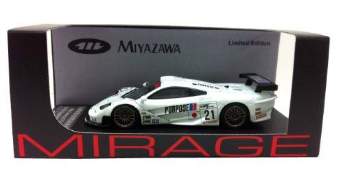 HPI Racing - 8534 - Véhicule Miniature - Modèle À L'échelle - Mclaren F1 GTR - 1000 Km De Fuji 1999 - Echelle 1/43