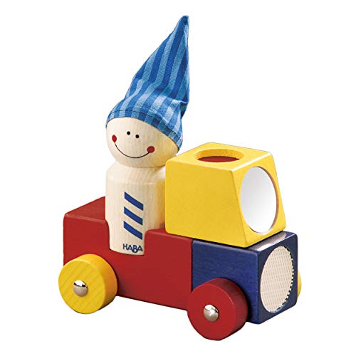 Haba Brummi, Holzauto, Auto, Figur, Babyspielzeug, Holzspielzeug, Baby Spielzeug, Holz, 1199