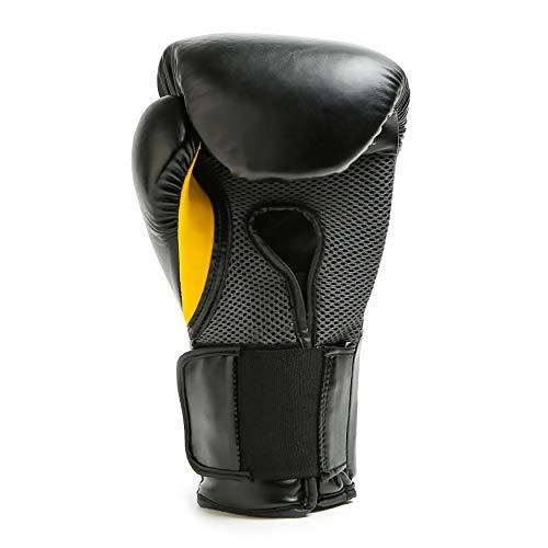 Everlast Elite Pro Style Training Gloves, Black, 16 oz
