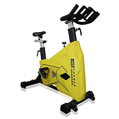Spinning Bike Indoor Ejercicio Bicicleta Casa Gimnasio Girando Bicicleta, Bicicleta Fija Interior con Asiento Ajustable Y Reposabrazos