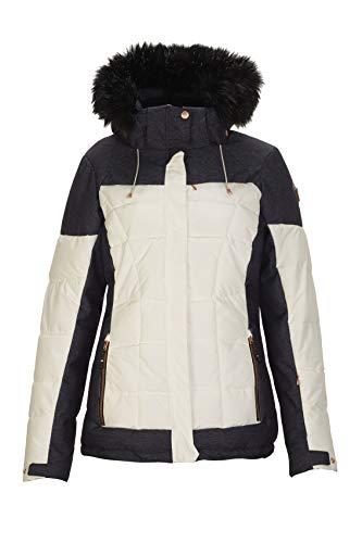 Killtec Damen Embla Skijacke Mit Abzippbarer Kapuze Und Schneefang, Offwhite, 40
