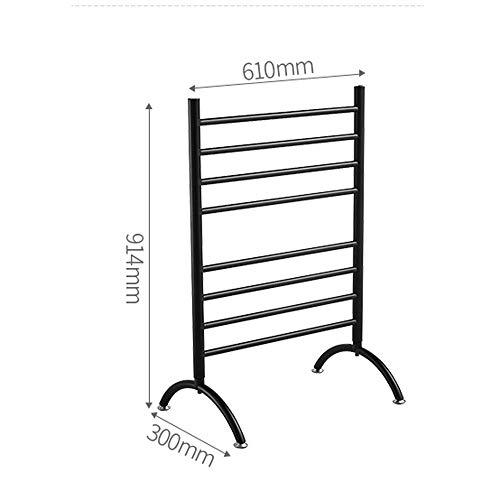 Handdoekenrek staande verwarming en droogrek, droogrek, intelligente temperatuurregeling, gemakkelijk te verplaatsen, geschikt voor badkamer, balkon.
