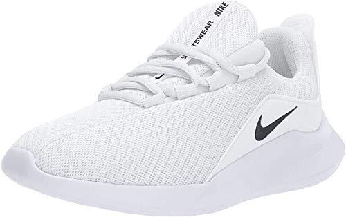 Nike Women's Viale Running Shoe, White/Black, 12 Regular US