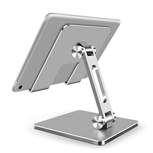 SANGSHI Soporte para tablet, giratorio y ajustable, de aluminio, ergonómico y ajustable, para ordenador portátil