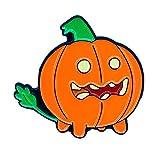 Goellnerd Pumpkin Pup Enamel Pin