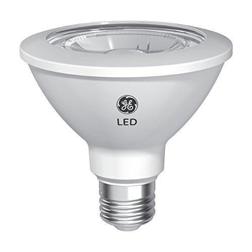 GE Lighting Relax HD PAR30 LED Floodlight Bulb, 12-Watt, Soft White Finish, Dimmable, Short Neck, 75-Watts, 2-Pack