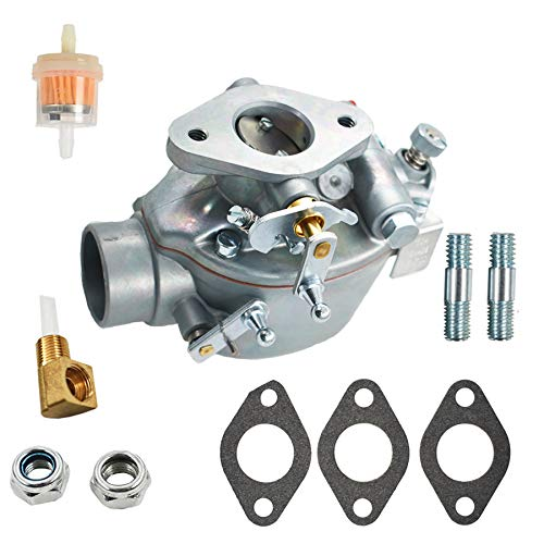 ALL-CARB EAE9510C Tractor Carburetor B2NN9510A Replacement for Ford Jubilee NAA NAB Tractor Marvel Schebler TSX428 600 700 Series with 134 CID Gas Engines