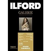 イルフォード インクジェット用紙 和紙 鳥の子 厚手 テクスチャードマット面 102mm×152mm 50枚ILFORD GALERIE Washi Torinoko ギャラリー ファインアート和紙 422169