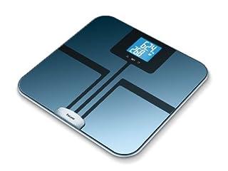 Beurer BF750 - Báscula de baño (LCD, Azul, 33 cm, 32 cm, 2,3 cm, AAA) (B007IV0270) | Amazon price tracker / tracking, Amazon price history charts, Amazon price watches, Amazon price drop alerts