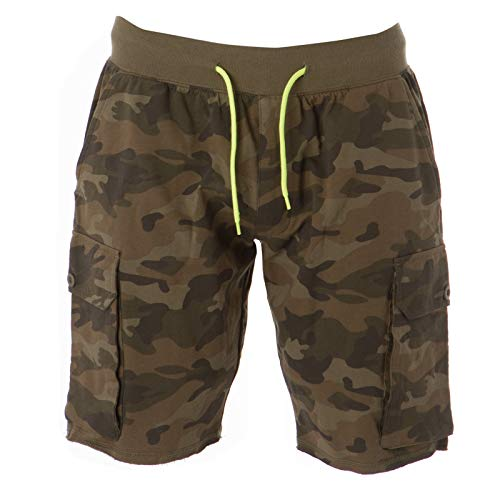 CHEMAGLIETTE! Pantaloncini da Lavoro Uomo Pantaloni Corti Shorts Bermuda Cotone JRC Cairo