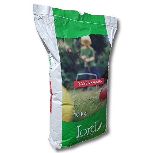 10 kg Lord Berlin Zoo SEMENCES DE GAZON BLANC SEC graines d'herbe grassaat - standardrasen pour Tous couches - Haut pflegeanspruch