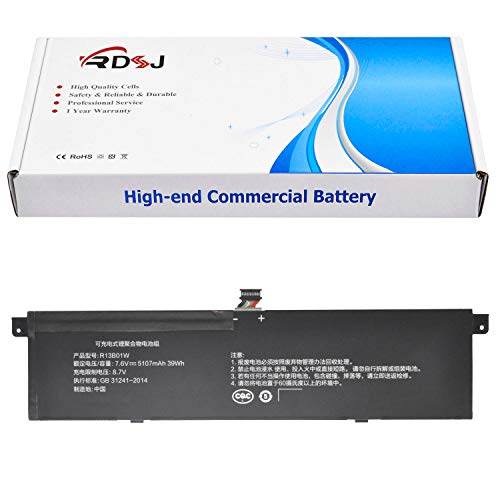 R13B01W R13B02W Laptop Battery Compatible Xiaomi Mi Air 13.3' Series Tablet 7.6V 39Wh