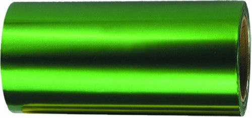 Fripac-Medis Papel de aluminio, 12 cm x 50 m, color verde