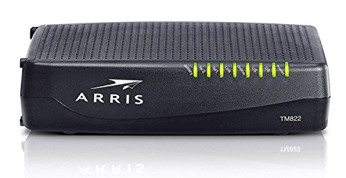 Arris TM822G - DOCSIS 3.0 8x4 Telephony Cable Modem (Renewed)