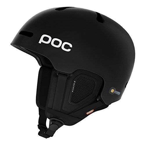 POC PC104601023MLG1 Casco, Unisex Adulto, Negro, M-L