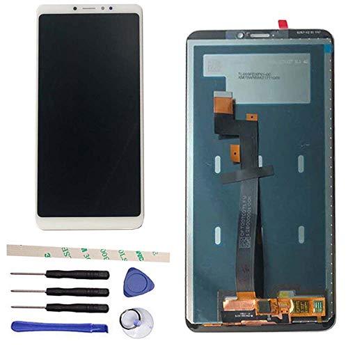 General Reemplazo de Pantalla para Xiaomi Mi MAX 3 / Mi Max3 2018 M1804E4A / M1804E4C Pantalla LCD Asamblea de digitalizador de Pantalla táctil (Blanco)