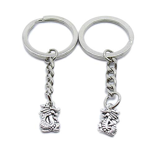 AA4621 Schlüsselanhänger mit chinesischem Sternzeichen Drache, 20 Stück