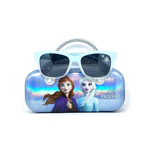 Disney Frozen 2 gafas de sol para niñas con funda de transporte, protección de gafas de sol para