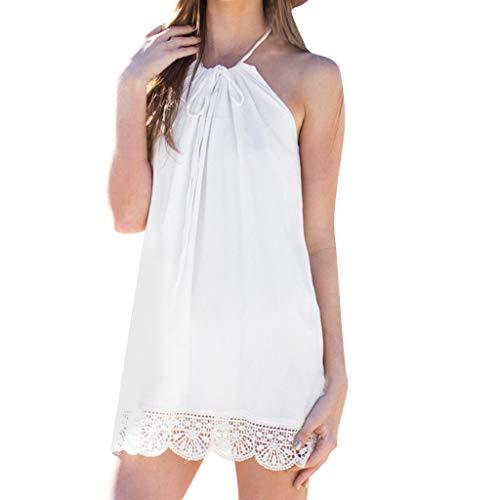 Learn More About WILLTOO Women Boho Halter Neck leeveless Dress/Casual Beachwear Dress Sundress
