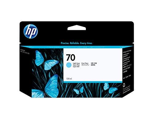 HP 70 Cyan hell Original Tintenpatrone, 130 ml