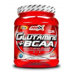AMIX Glutamine + BCAA Powder - 530 gr naturale