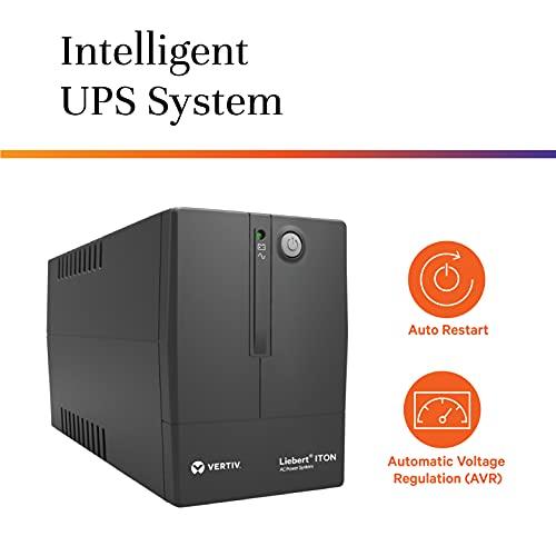 VERTIV Liebert ITON CX 1000VA UPS for Desktop PC and WiFi Router