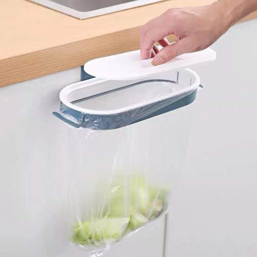 BSTOB Cubo de Basura de encimera de Cocina con Tapa, Cubo de gabinete de Cocina Debajo del Fregadero, Bote de Basura Colgante para Armario de Cocina