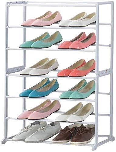 JXLBB Simple Zapato Blanco Rack Foyer Storage Rack Shoe Shape Hack
