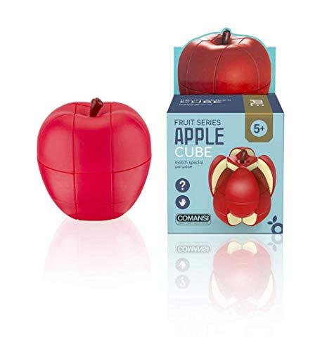 Comansi Apple Cube-Cubo Mágico de Velocidad. Juego Educativo para desarrollar la Inteligencia y la destreza, Multicolor, 7 x 7 x 8 cm (1)