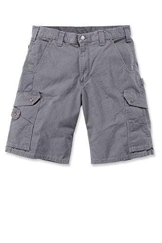 Carhartt RipStop Cargo Shorts Farbe:-Gravel Gr:-W34