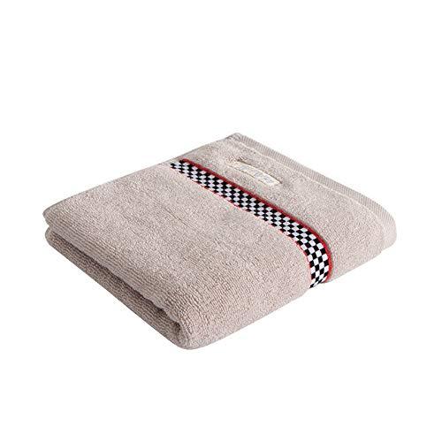 CMZ Toalla de algodón Liso con Lima Rota, Toalla Absorbente para la Cara del Adulto, Toalla Simple para Parejas diarias, algodón Puro (34x72 cm)