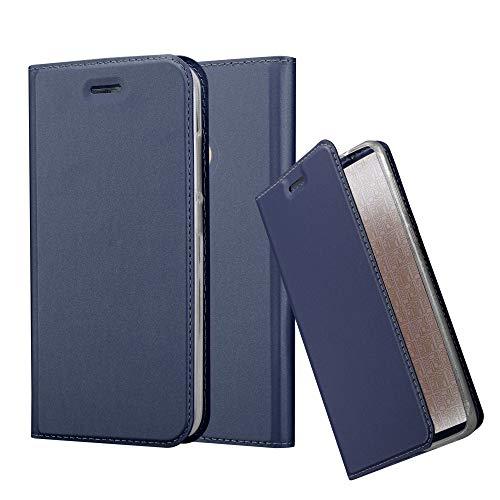 Cadorabo Funda Libro para Xiaomi Mi A1 / 5X en Classy Azul Oscuro – Cubierta Proteccíon con Cierre Magnético, Tarjetero y Función de Suporte – Etui Case Cover Carcasa