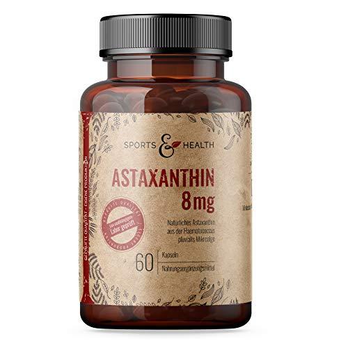 Astaxanthin 8 Mg Depot Kapseln - 2 Monatsvorrat - 60 Gel Caps – Hochdosiert