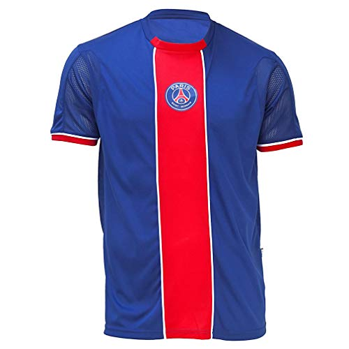 PSG - Official Paris Saint-Germain Kids Football Jersey - Blue, Red (10 Years)