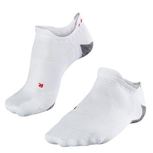 FALKE Damen Laufsocken RU5 Invisible Sneaker 2er Pack, Größe:41/42;Farbe:White Mix (2020)
