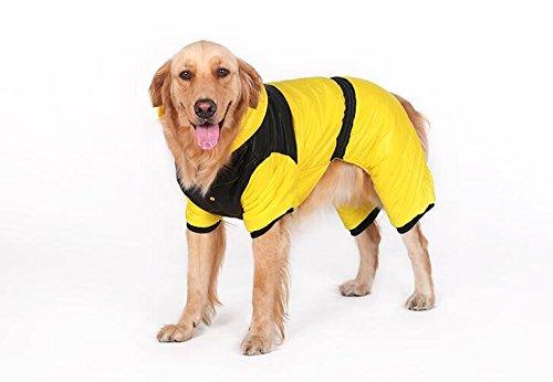 Grand Chien Vêtements automne et hiver vêtements vêtements pour chien Golden Retriever Samoyède Huskies Big coton pour chien Pet Vêtements