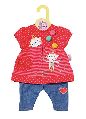 Zapf Creation 870365 Dolly Moda Hängerchen mit Hose, Puppenkleidung 39-46 cm