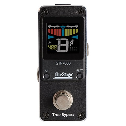 On-Stage GTP7000 Mini Guitar Tuner Pedal