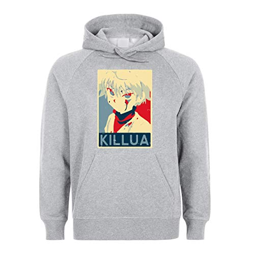 NoMoreFamous Killua Hunter X Hunter Unisex Sweatshirt Hoodie Pullover Medium