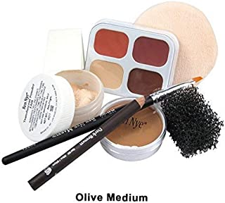 Ben Nye Theatrical Creme Personal Kit - OLIVE : LIGHT MEDIUM PK-3