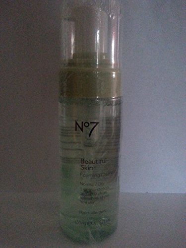 Boots No7 Beautiful Skin Foaming Cleanser, Normal / Oily 5 fl oz (150 ml)