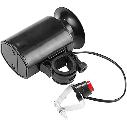 HUI JIN Super ruidoso bicicleta eléctrica cuerno 6 sonido timbre sirena alarma Bicicletas equipo Accesorios