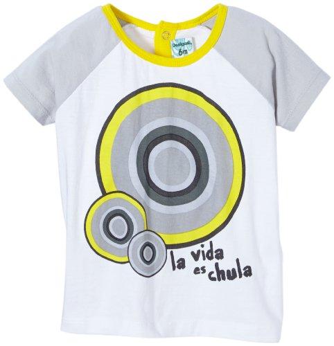 Desigual Redos - Camiseta para bebé, Talla 86 (24) - Talla Alemana, Color Blanco