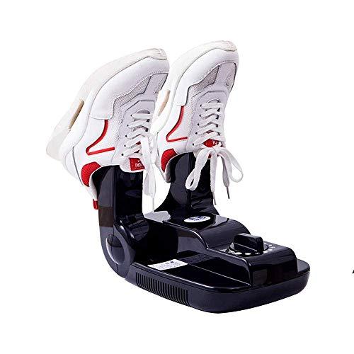 Tragbarer elektrischer Schuhschuhtrockner, Handschuhwärmer mit Wärmegebläse Einstellbarer Rack-Timer Klappwärmer Schnelltrocknen für Hüte, Desodorierungs-Schuhmaschine, Multifunktionstrocknende Schuhe